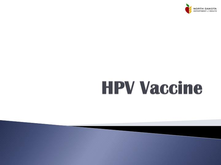 hpv vaccine ppt