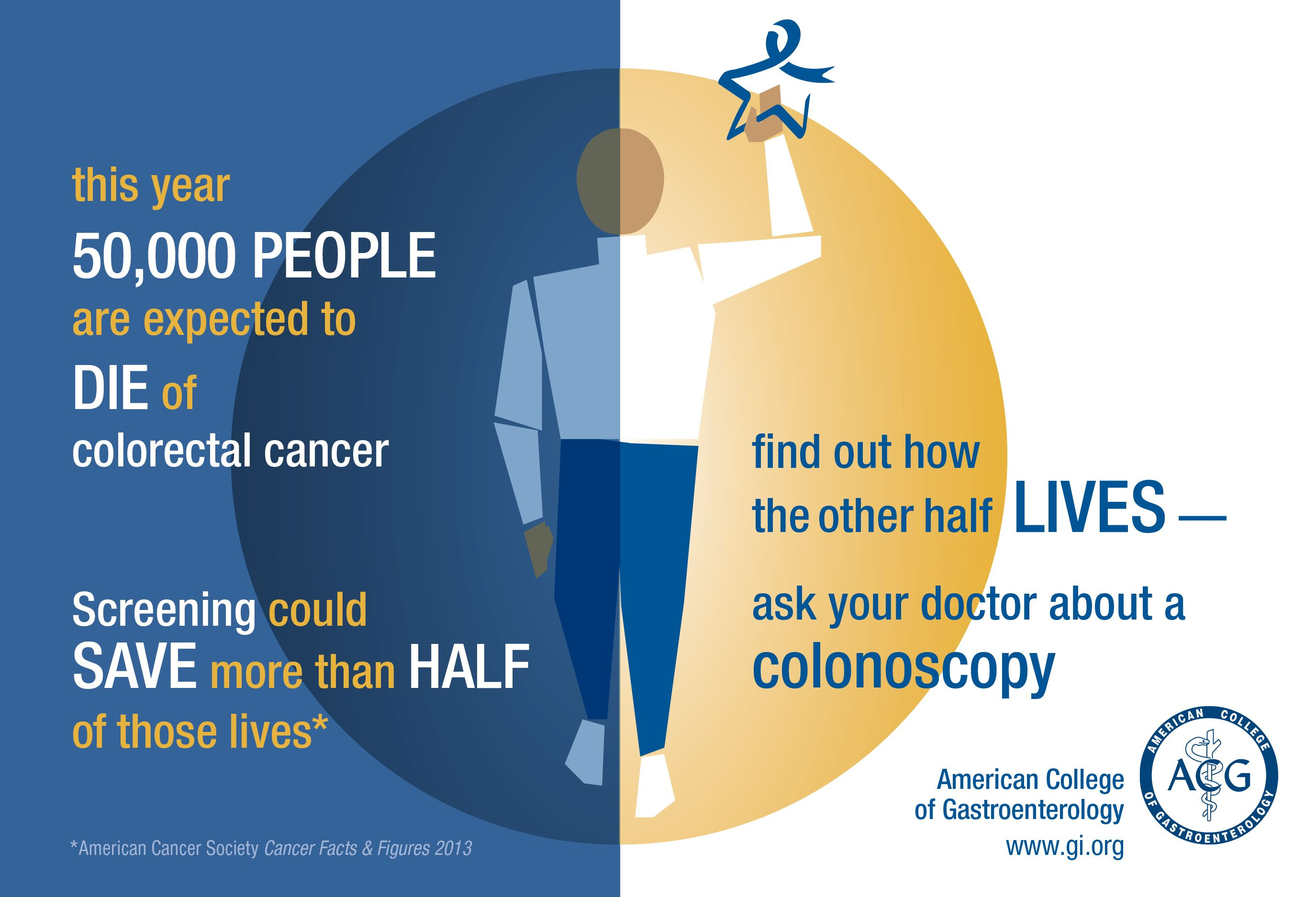 colorectal cancer facts and figures)