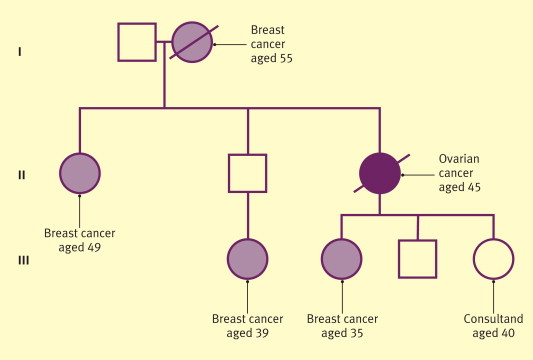 Ovarian cancer family history