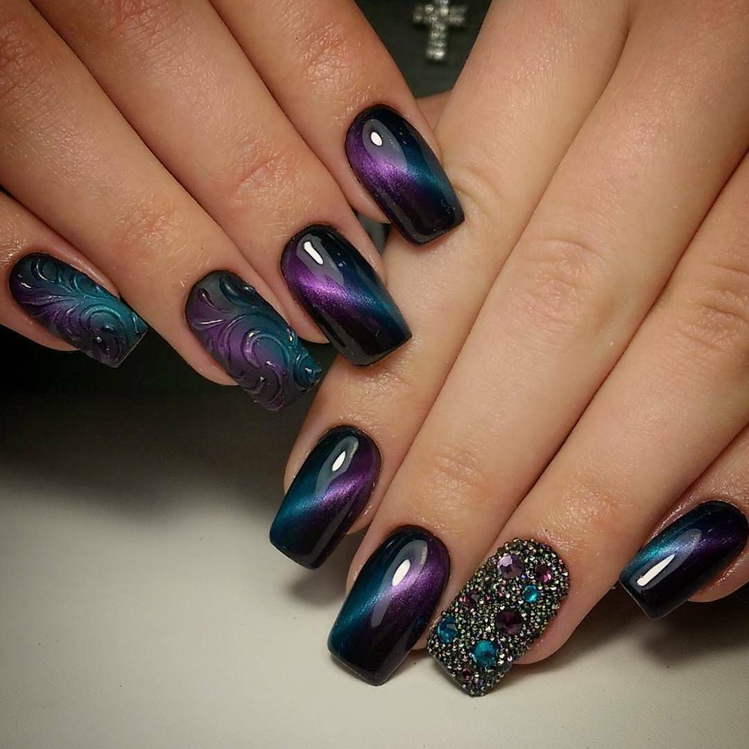 91 Best Unghii lungi images in | Nail art designs, Nail designs, Cute nails