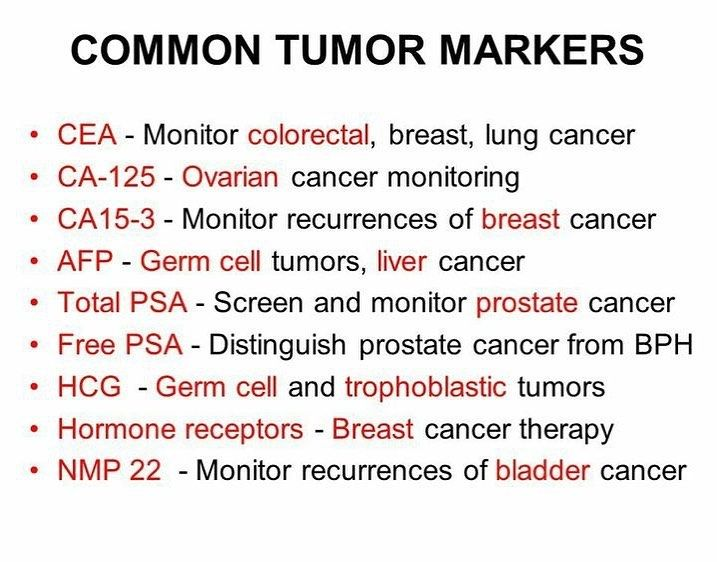 hepatic cancer tumor markers)