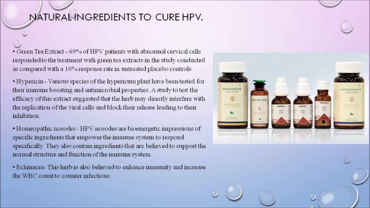 hpv bumps cure