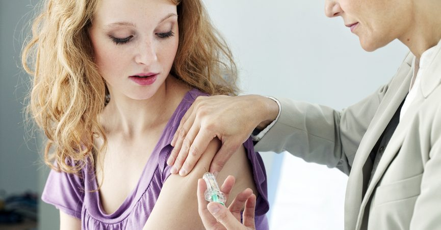 Hpv vaccine side effects study,