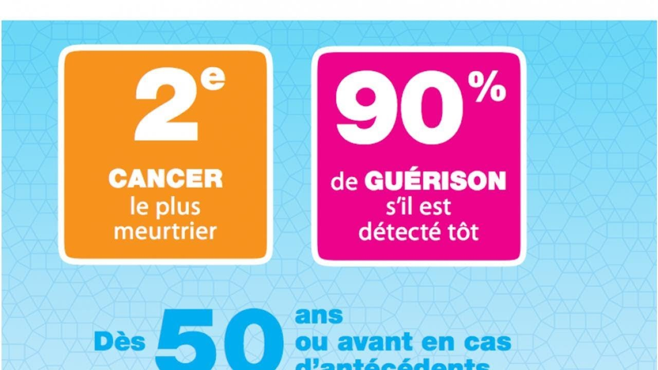 cancer colorectal guerison)