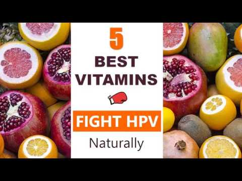 Hpv natural supplement treatment