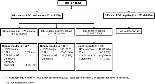 hpv high risk cin 1