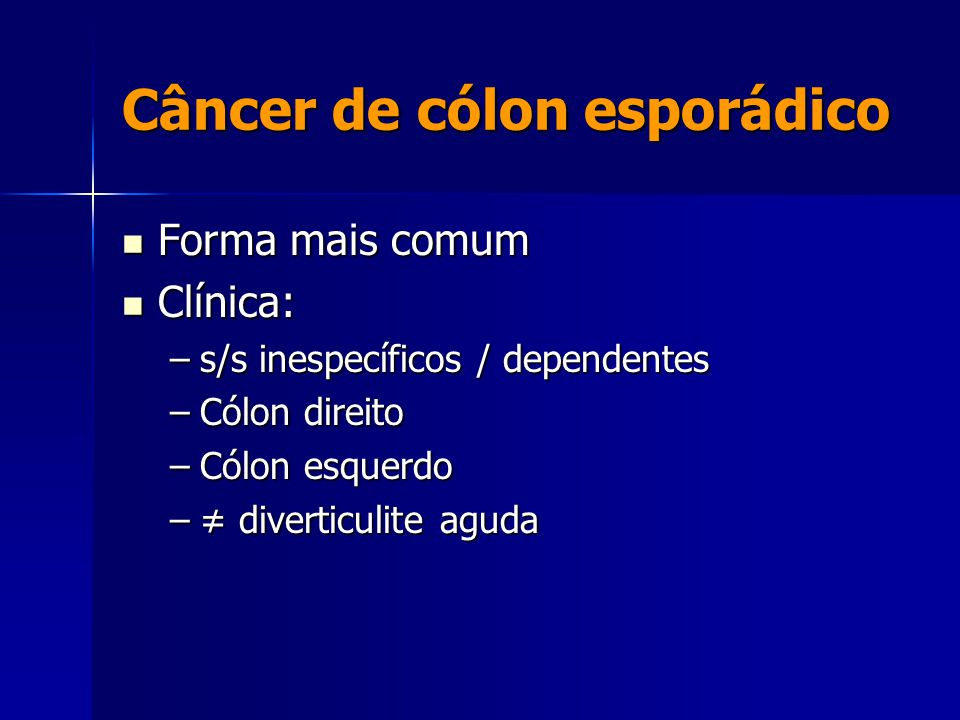 Adenomul chirurgiei colonului Cancer colon ppt