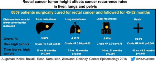 rectal cancer tumor size