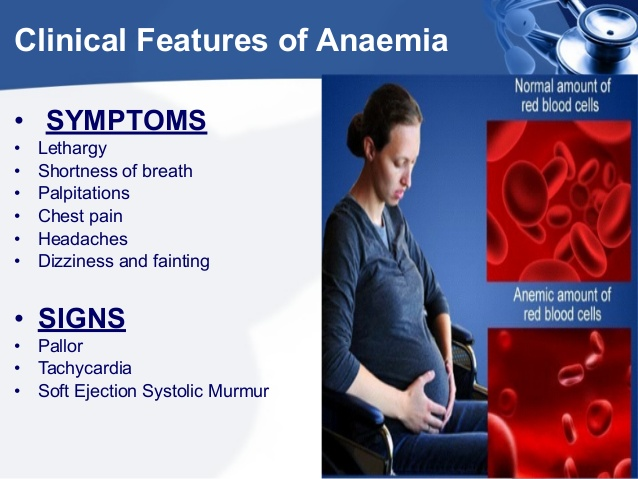 anemia with pregnancy