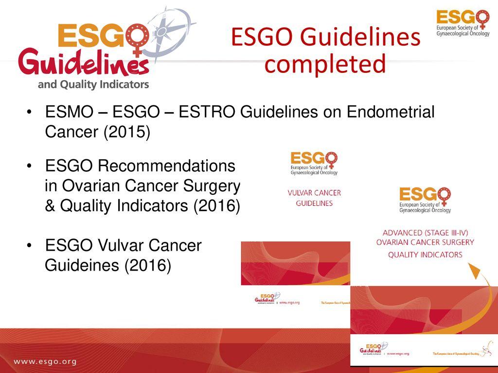 endometrial cancer esgo