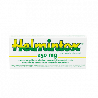 Helmintox pyrantelum, HELMINTOX 250 mg