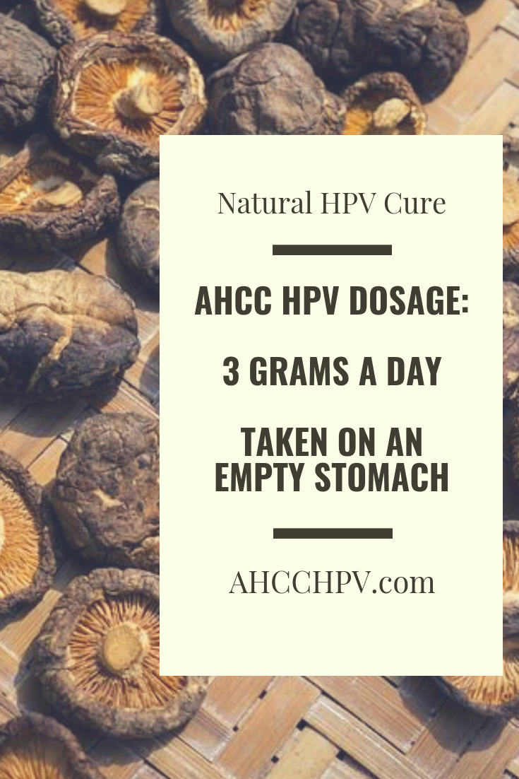 hpv cure mushroom extract