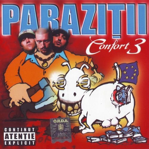 Parazitii - Confort 3 + Irefutabil [Boxset] (2cd) | lei | Rock Shop