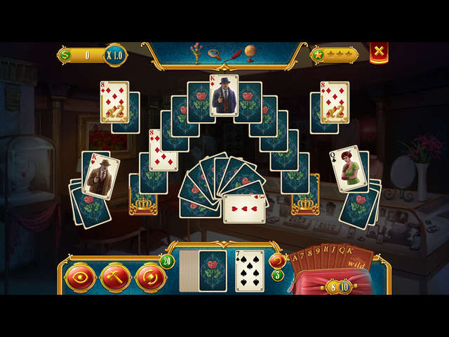 Detective Solitaire. Butler Story pe Steam