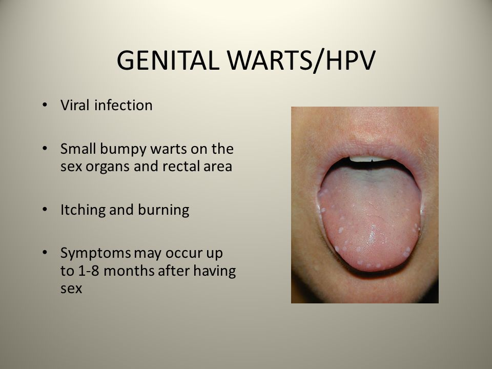 hpv causes itching