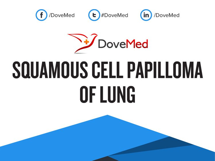 Squamous papilloma lung