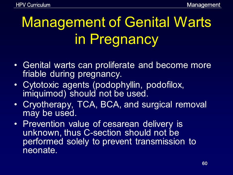 Genital warts and pregnancy delivery, Account Options