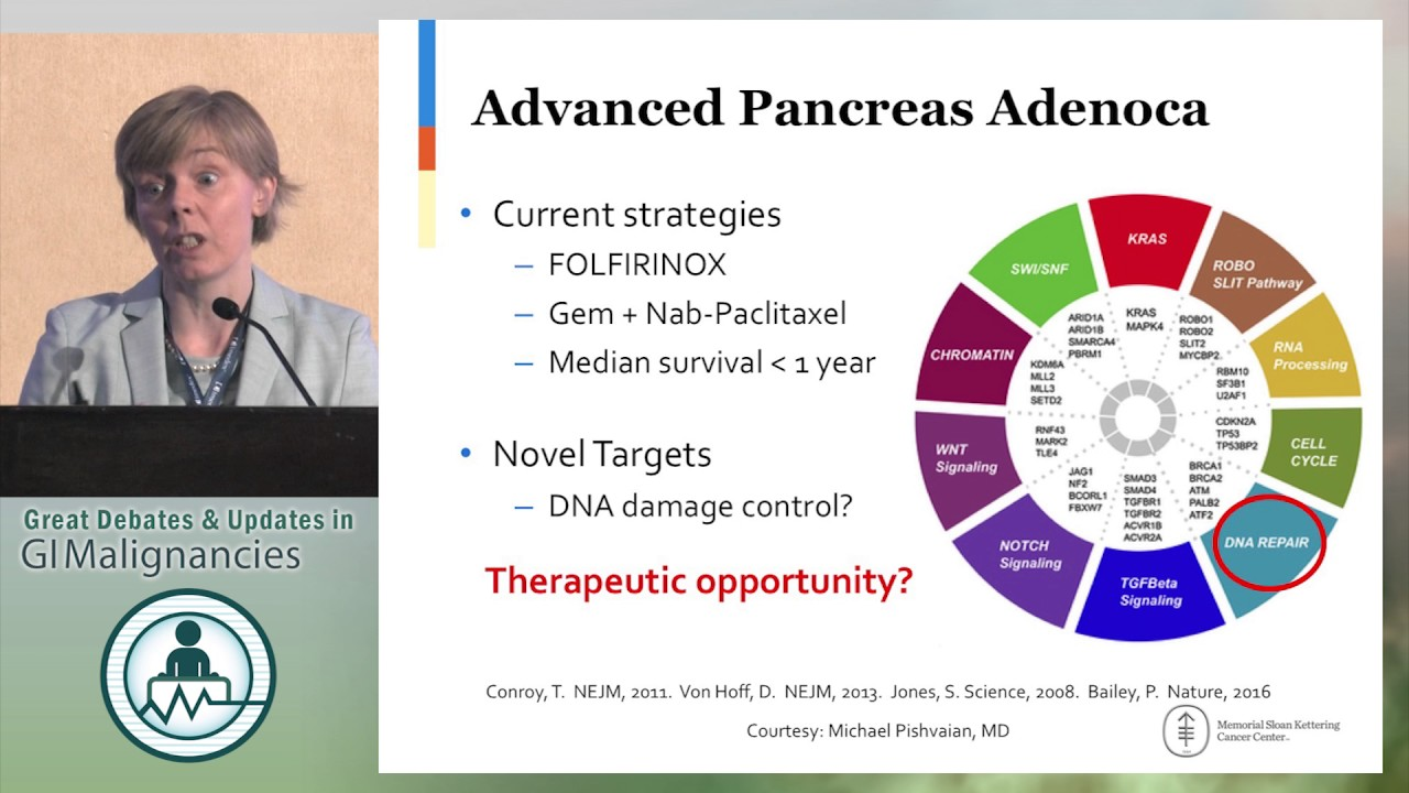 Pancreatic cancer targeted therapy,